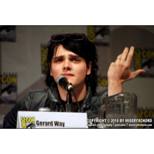 "Gerard Way - Fine Art Photograph Print 8""x12"""