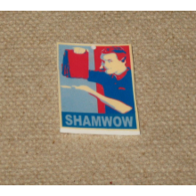 Shamwow Vince Offer Keychain
