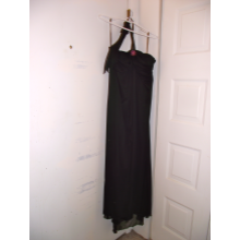 Black floor length gown size 26