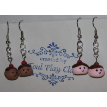 Pudding Pals Clay Earrings