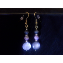 Dyed Shell Earrings
