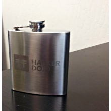 Laser Engraved Hacker Dojo Flask