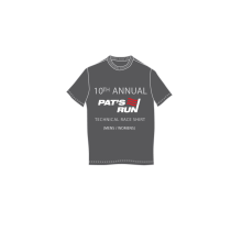 10th Annual Pat's Run Adult Technical Race Shirt (2014)