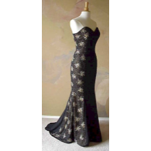 Darius Cordell - #8200 - Beaded Evening Wear, Black Pageant Dresses