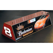 "Custom 36"" Acrylic ACME Budweiser Bud shootout pool table light"