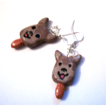 Pupsicle Earrings