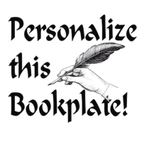 Bookplate Personalization - Set of 12