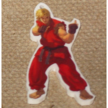 Street Fighter Ken Keychain