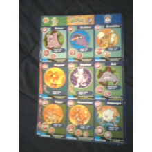 Set of Burger King Pokemon Promo Cards