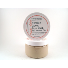 Neroli and Carrot Rhassoul Clay Mask