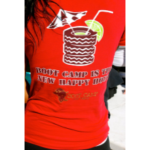 T-Shirt RED Happy Hours T-Shirts
