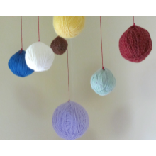Custom Yarn Ball Mobile
