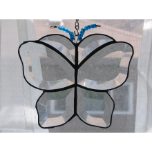 Beveled Butterfly Sun Catcher