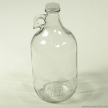 1/2 Gallon Glass Jug Maple Syrup