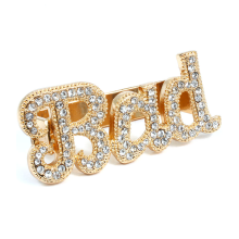 BAD Two Finger Ring (Gold)