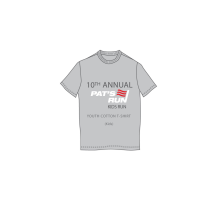 10th Annual Pat's Run Kids Run Youth Cotton T-shirt (2014)