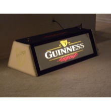 "Custom 36"" Guinness Whisper pool table  light"