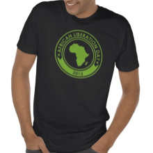 African Liberation Day 2013 T shirt Black