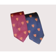 CRIMSON Dunster House Shield Tie