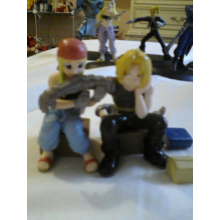 Fullmetal Alchemist Edward Elric and Winry Rockbell Figurines (set)
