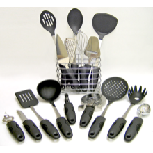 Kitchen Pride 17 Piece Stainless Steel Kitchen Utensil Tool Set