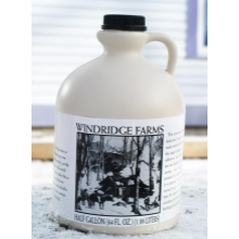 1/2 Gallon Maple Syrup - jug
