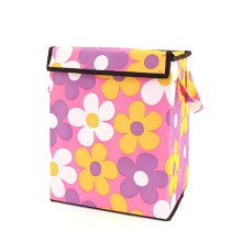 Organizing Tote Box - Light Pink Flowers