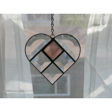 Beveled Heart Suncatcher