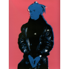 Silkscreen: Warhol & Bullet Hole Hand Pulled Art