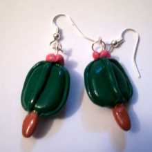 Cactsicle Earrings