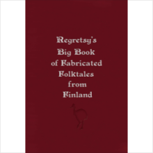 Two-pack Regretsy's Big Book of Fabricated Folktales from Finland (domestic shipping)