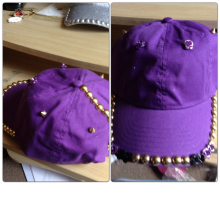 SmithGenes Custom purple hat