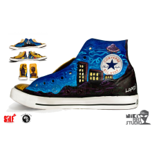 Custom Painted Converse Sneakers