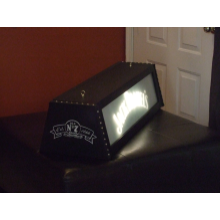 "Custom 36"" Jack Daniel's Whisper Frosted mirror pool table  light"