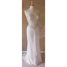 Darius Cordell - #3200 - White Evening Gowns, Strapless Pageant Dresses,