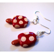 Mushroomsicle Earrings