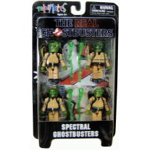 The Real Ghostbusters Spectral Miniates