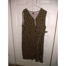 Merona size 4 brown/tan dress.