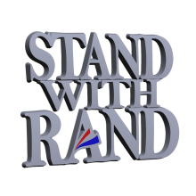 Stand With Rand Chrome Car Emblem (June 2013)