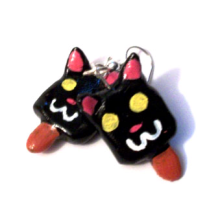 Catsicle Earrings
