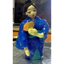 Miko the Dancing Geisha Figurine