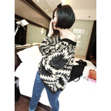 Black and White Tribal sweater