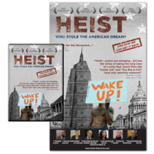 HEIST Home Use DVD + Poster