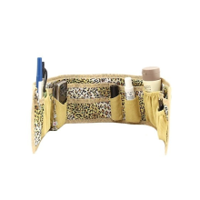 Purse Organizer - Gold/Leopard