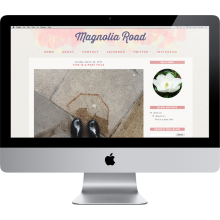 Blogger Template | Magnolia Road