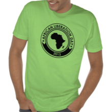 African Liberation Day 2013 T shirt Green