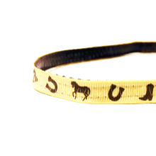 Teacup Dog Collar - Cowboy / Western / Country - Free Shipping 3/8""