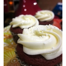 1 doz Mini Red Velvet Cupcakes