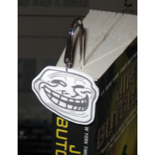 Your Choice - Meme Silvertone Bookmark