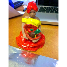 Serafina the Sad Señorita figurine